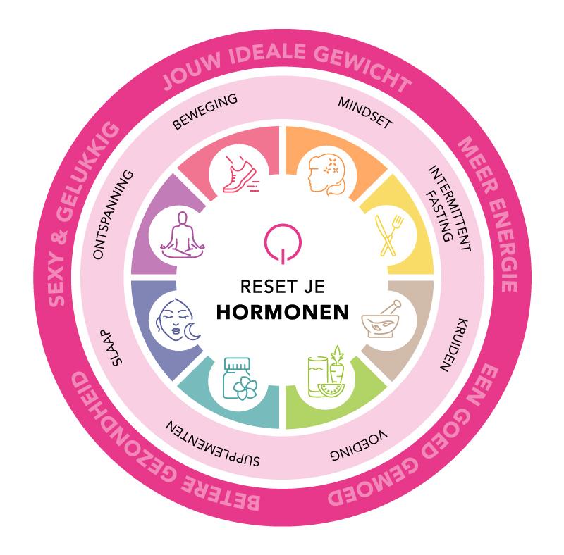 Reset je Hormone methode fit met simone son en breugel